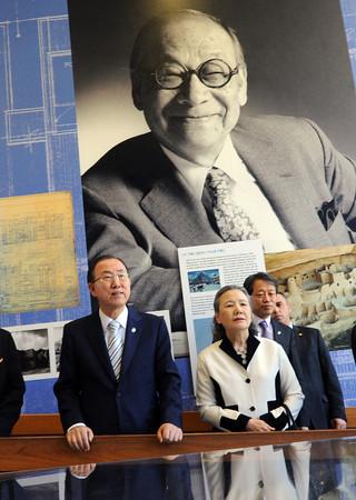 Ban Ki-moon Visits NCAR