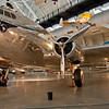 The first commercial transport aircraft with a pressurized cabin: Boeing 307 - Stratoliner
