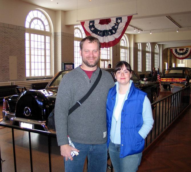 December, 2005. Henry Ford Museum in Detroit.