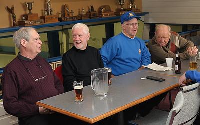 Pat Burns, Bruce Davy, Larry Lear
