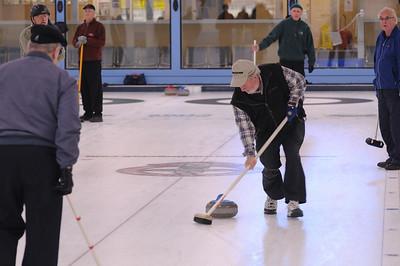 Dave Braim sweeping