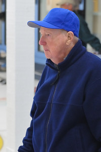 John Bell in blue