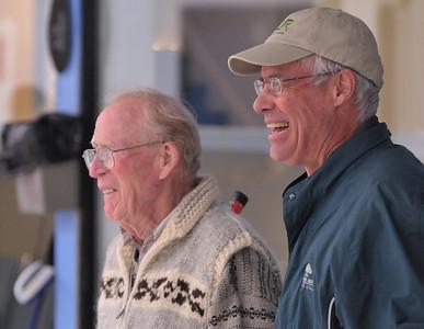 Jim Muir (L) and Jon Collins (R)
