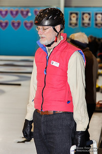 Nice pink vest there, Chris!