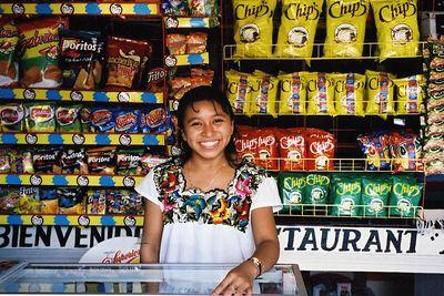 Mexico - Puesto de Boquitas-Snack Stand