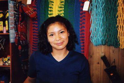 Vendedora Equatoriana en Espana.Ecuadorian salesperson in Spain.