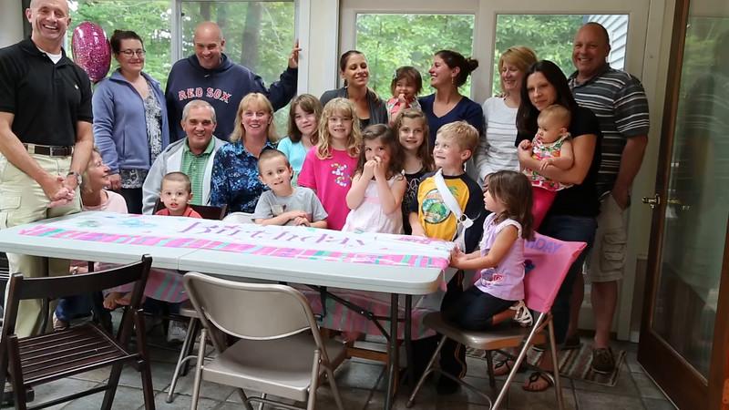 Kara's 4th Birthday Party
