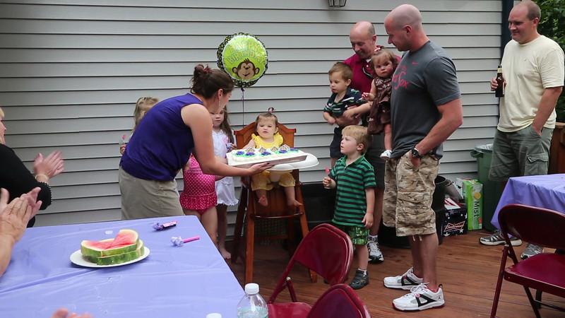 Kara's 1st Birthday.