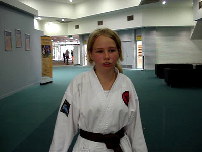 """""""I Am So Much Fitter And Confident In Self Defence - I Now Know What To Do If Attacked!""""  """"Thank you Shihan Martin Day for all you have taught me."""" - Jacinta, aged 12, Perth, Australia."""