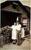 1944 08xx Bessie and Mel Popovich_ a star in the windoow represents a son Brownie in the service