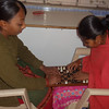 Blind Girls Playing Chess