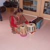 Blind Person playing Tabla