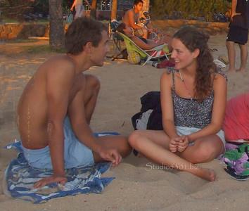 Max & Rachel Waikiki 071311