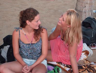 Rachel & Serena  Waikiki 071311