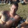 Markus Köhl at Wacken Open Air 2011. tattoo by Bob Fink of New Skin Touch