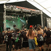 Norwegian black metal band Khold at the W.E.T. stage tent at Wacken Open Air 2011