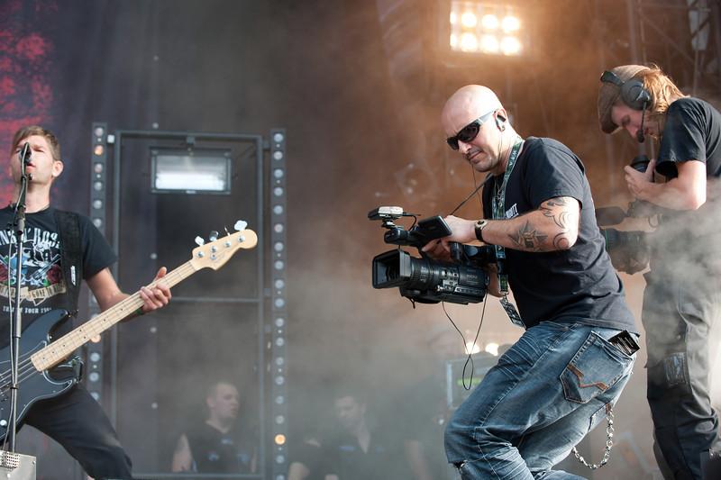 Video crew at Wacken Open Air 2011