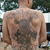 """Sven Spilker from DE, at Wacken Open Air 2011. Beer Broads and Bikes. """"tattoo artist Body Attack"""", Zeven,DE. (1 of 3)"""