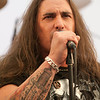 US powermetal band Circle II Circle  in the press room at Wacken Open Air 2011
