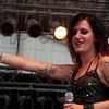 Dutch trash metal band X-Tinxion (Metal Battle Holland winner) at Wacken Open Air 2011