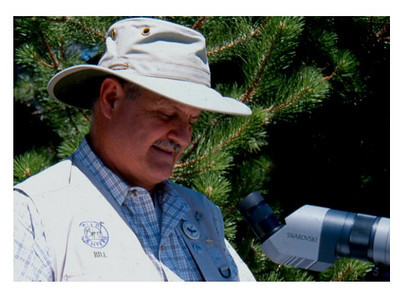 Bill Fenimore volunteers his time and talents as a member of the Utah Wildlife Board.  Photo by Phil Douglass.