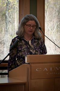 Essayist Anne Reynolds.