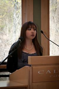 Essayist Allison Arnold.
