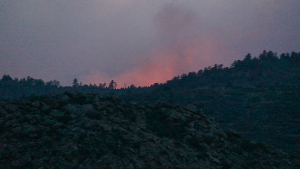 Waldo Canyon Fire - Began on 06-23-2012 ~ At dusk