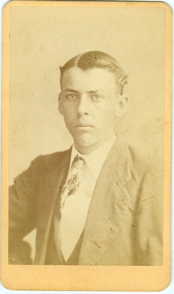 Unidentified Man in a Suit (07534)