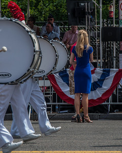 Memorial day parade in Washington DC