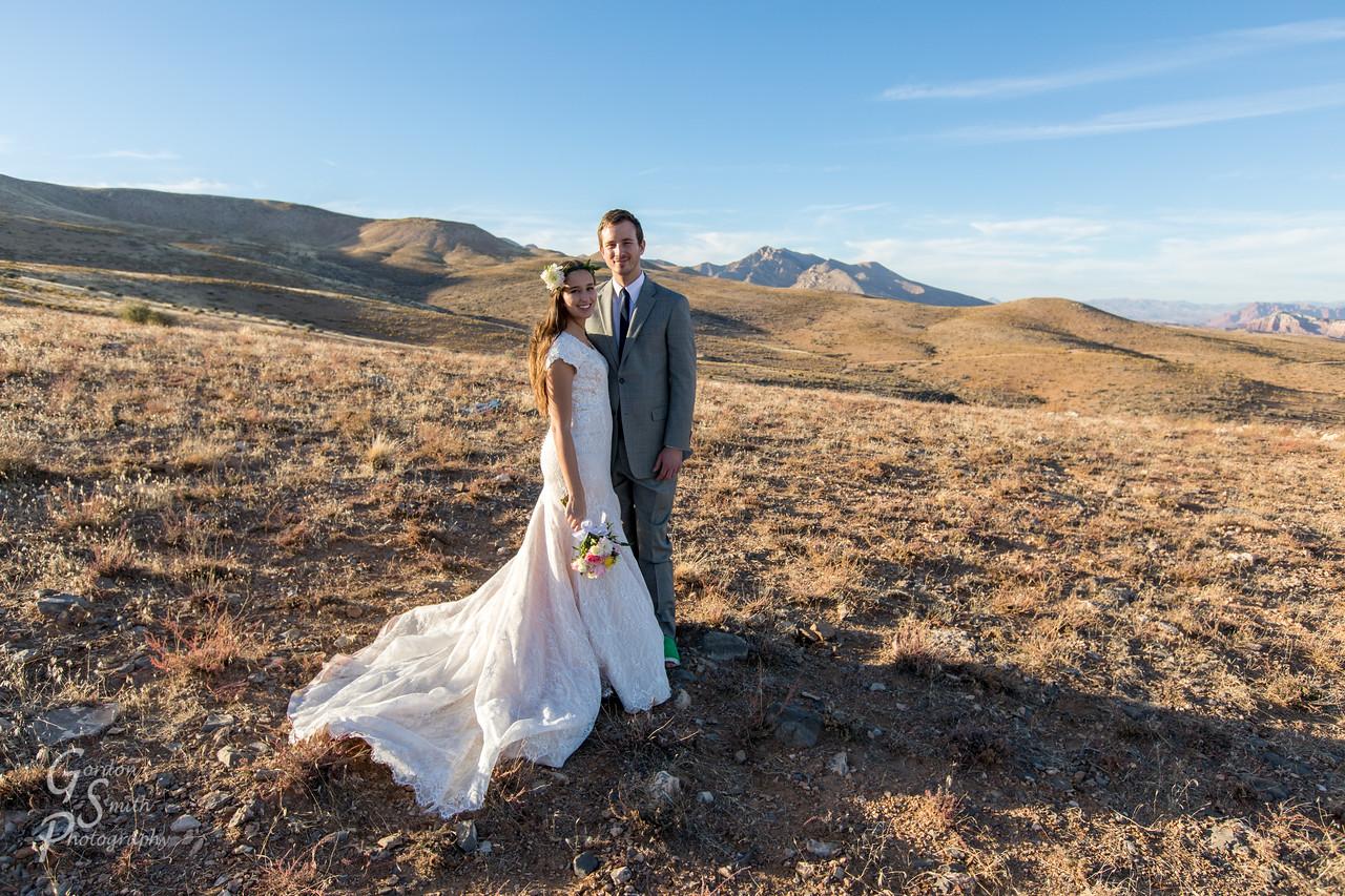 Southern Utah Bride portrait