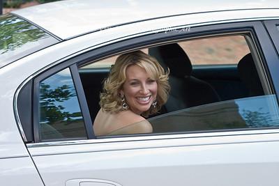 Bride arrives!