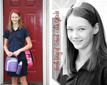 FirstDay of school Angela Wallpaper