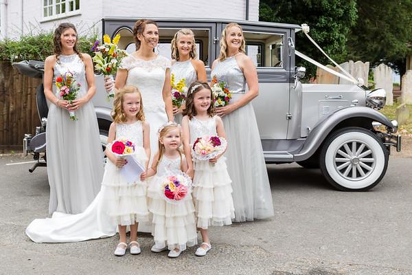 Gemma & Nick Huggett Wedding, 24th June 2017