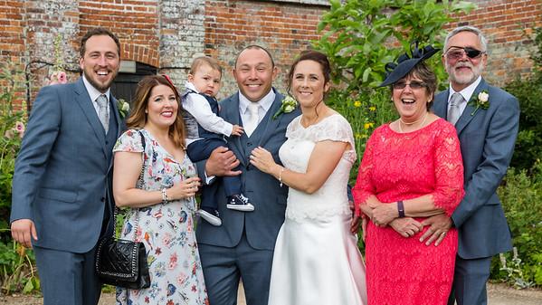 Gemma & Nick Huggett Wedding, St Andrew's Church, Cobham, 24th June 2017