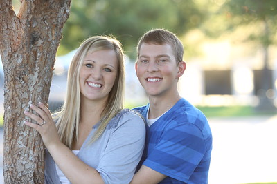 Spencer and Paige - Engagement Pics 9-2-13