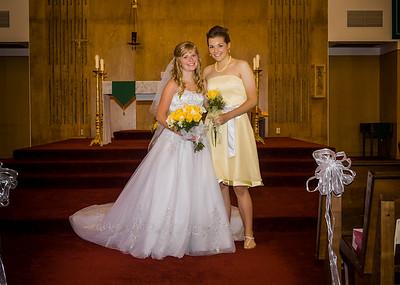 Brandon & Megan Visser - July, 2012