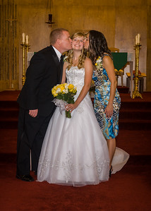 Brandon & Megan Visser - July, 2012