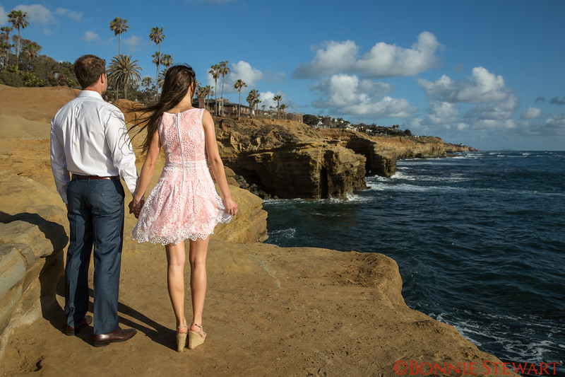 Engagement at Sunset Cliffs