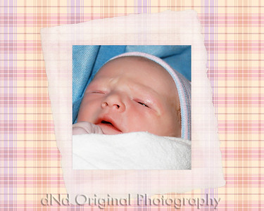 Newborn Preston adj (10x8) framed