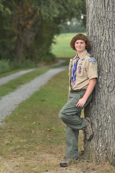 Wesley Cowand Eagle Scout Portraits