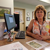 Recently appointed Westford town clerk Patty Dubey, at Town Hall. (SUN/Julia Malakie)