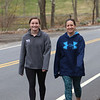 Emily Blatt, 18, left, a senior at Westford Academy, and her mother Kara Blatt of Westford, who teaches in Methuen go for their daily walk. They usually do 4-5 miles.  (SUN/Julia Malakie)