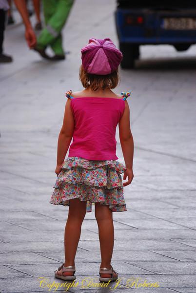 Little girl, Barcelona, Spain