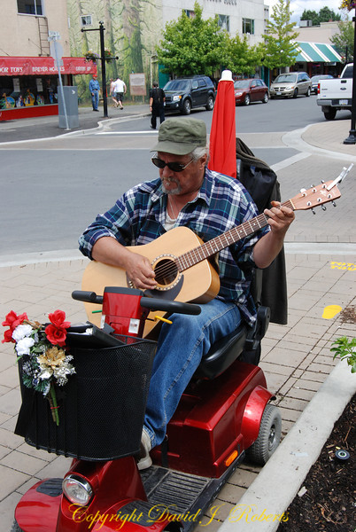 Musician in Duncan BC