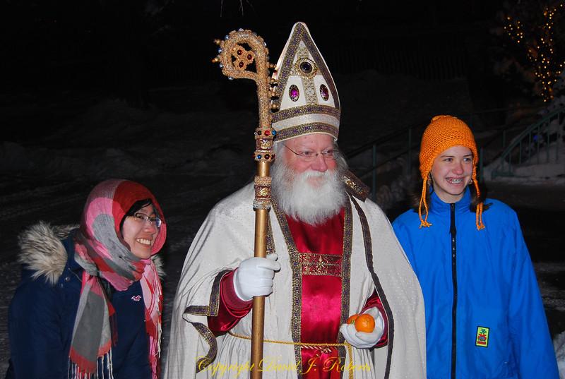 Father Christmas in Leavenworth WA