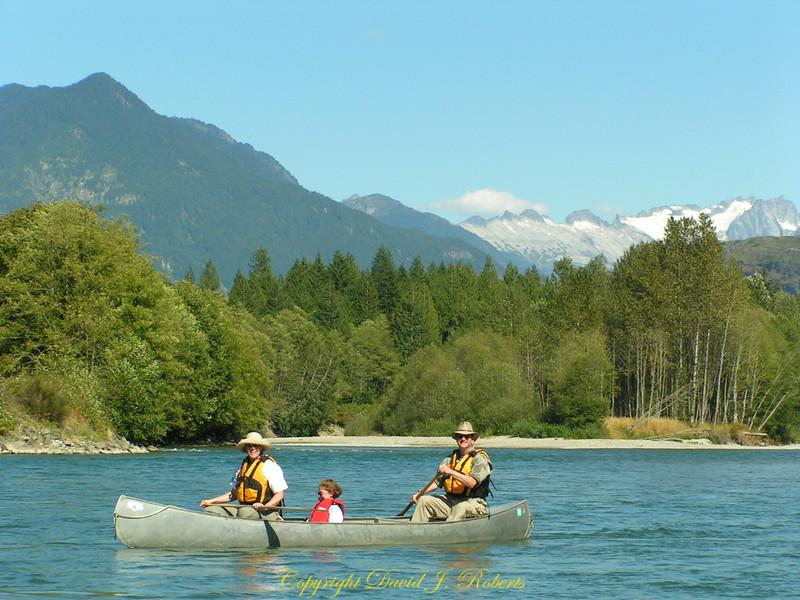 Canoeing the Skagit River