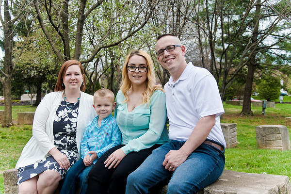 Wheatley family + Courtney's senior pictures