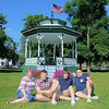 The Whittier Family from Townsend on the Common. From left  Sharon, Michael, 18, Jared , 16, and Tom Whittier. SENTINEL & ENTERPRISE/JOHN LOVE