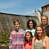 The Shenk Family, of Westminster. From left are<br /> Adam, 14, Erin, 11, Abigail, 16, and mom and dad Jen and Jay. SENTINEL & ENTERPRISE / Ashley Green